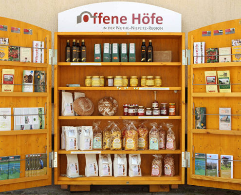 Offene Höfe Produktauswahl