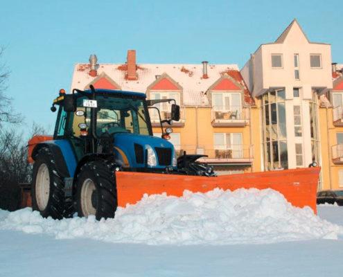 Winterdienst Schnee-Räumung